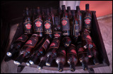 Bottles of rum at Museo del Ron