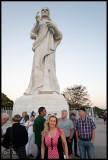 Susanne and El Cristo de La Habana