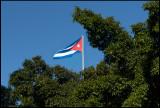 The Cuban flag