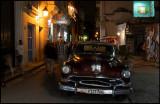 Car on Empedrado street