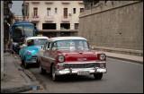 Taxi cars near Plaza del Catedral