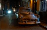 Old dusty pickup in Havana Old town