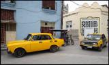 Yellow Russians (Moskovith and Lada) + Bi-Ci Taxis