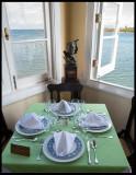 Terraza de Cojimar - always a table prepared for Hemingway