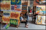 Art for sale in central Havana