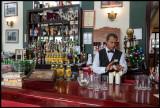 Making a Pina Collada in hotel Nacional bar