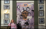 Susanne in hotel Nacionals Hall of fame