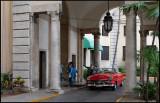 Entrance of hotel Nacional