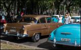 Chevrolets - Car display near Plaza de la Revolution