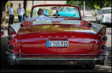 Dodge - Car display near Plaza de la Revolution