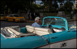 Chauffeur near the entrance of Hotel Nacional
