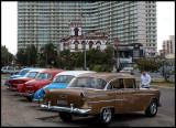 Taxis outside Hotel Nacional