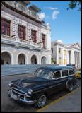 The theatre in Cienfuegos under restoration