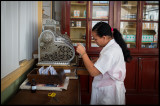 The local pharmacy in Cienfuegos with a very old cash register
