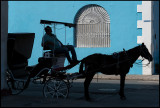Horse carriage waiting for customers - Cienfuegos
