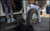 Trying to repair oil leaks on a truck