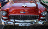 Chevrolet Bel Air - a very common model in Cuba