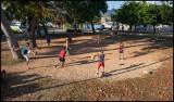 Soccer football in Trinidad