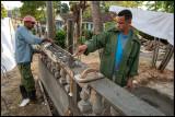 Bricklayers in Iznaga