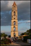 The famous tower in Iznaga (near Trinidad)