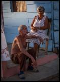 Older couple in Iznaga