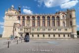 Palace under blue sky