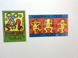Stop AIDS (1989); Ignorance = Fear, Silence = Death (1989) - Keith Haring - 7992