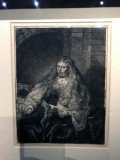 Esther before her visit to Ahasuerus, The great Jewish bride (1635) - Rembrandt - 8218