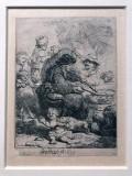 The pancake woman (1635) - Rembrandt - 8244
