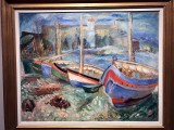 Fishing Boats, Collioure (1933) - Sigrid Hjertén - 9963