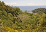 Praslin landscape.