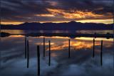 Salton Sea Sunset Reflections