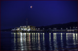 Santa Monica Pier Lunar Eclipse
