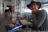 Last shot: killing time on the airport