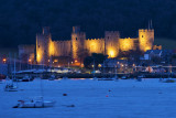 Conway Castle from Deganwy