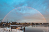 Rainbow over Beaver Bay  6