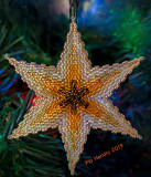 Ombre Star - 3 Dimentional Ornament
