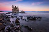 Tombolo, Lake Superior