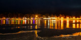 Christmas lights, Ladysmith, Wisconsin