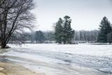 Frozen Flambeau river