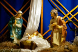 Nativity Scene At St. Jacob The Apostle Church