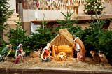 Nativity Scene At Jesuit Church
