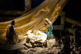 Nativity Scene At St. Francis Church