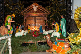 Nativity Scene At  The Holy Spirit Church