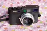 CZJ Biometar 35mmF/2.8 with M8 + S->M adapter