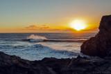 Sonnenaufgang Mittags im Januar