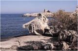 Carte postale de voyage: Punta Caldano, Corse.