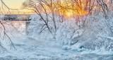 Rideau River Sunrise Frost P1370937-43