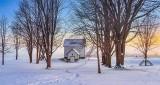 Edmonds Lockmaster's House At Sunrise P1380425-31