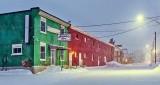 Victoria Avenue In Snowfall P1380488-94